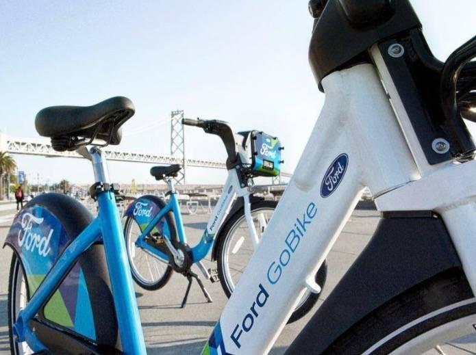 共享单车不降温:福特牌共享单车GoBike正式上路
