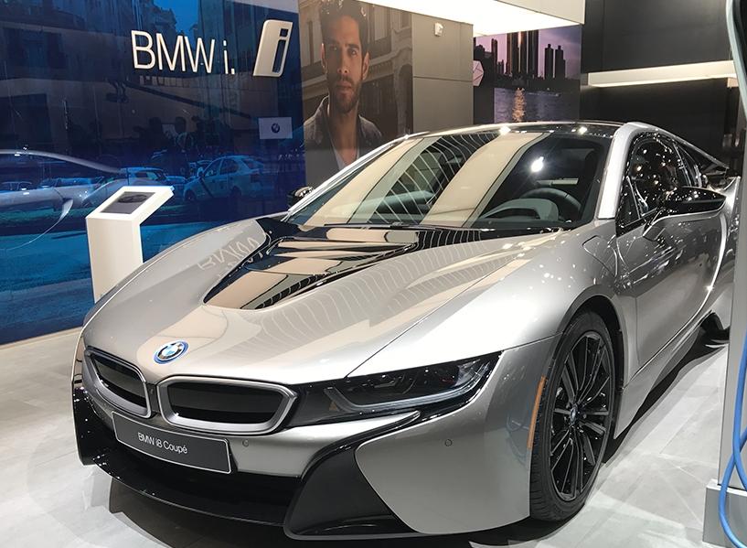 经典的延续:新款宝马i8 Coupe亮相北美车展
