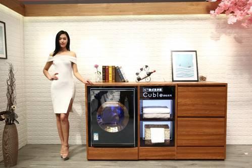 行业首创柜式美学设计 松下洗衣机新品国美首发