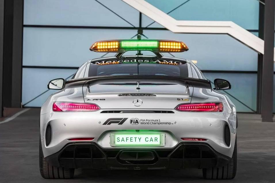 Mercedes-AMG发布「史上最强」F1 安全车