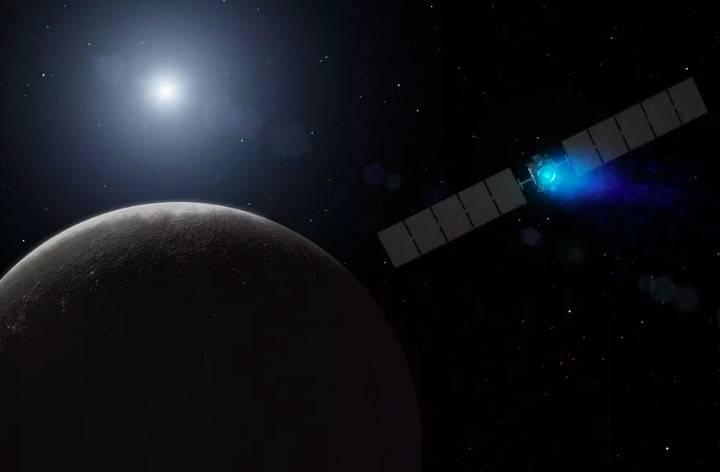 """美国宇航局""""黎明号""""探测器 将接近谷神星最近轨道"""