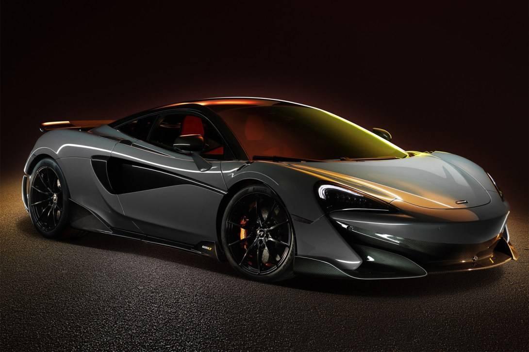 赛道之王  加长超跑McLaren 600LT