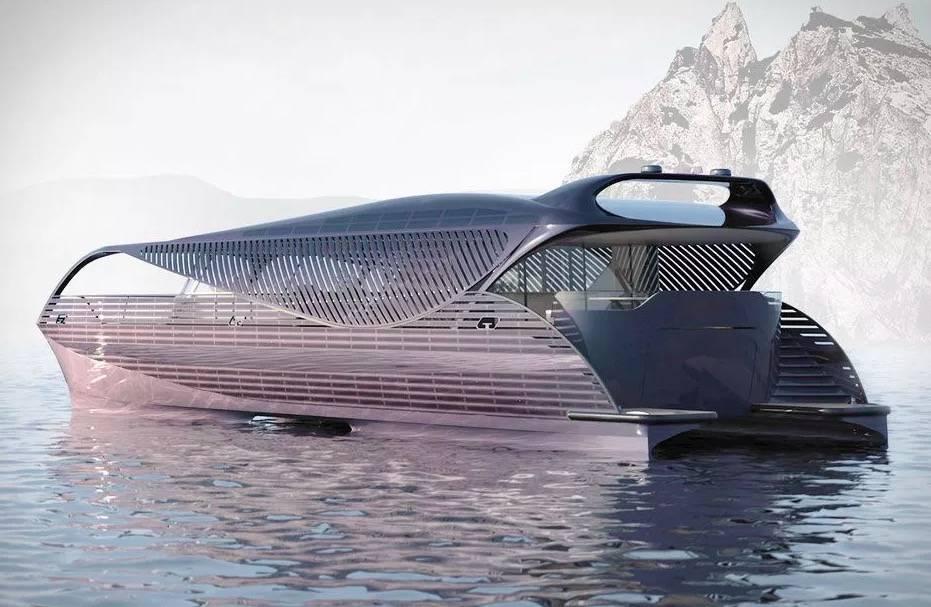 土豪们久等,全球首艘太阳能游艇 SolarImpact Electric Yacht 亮相