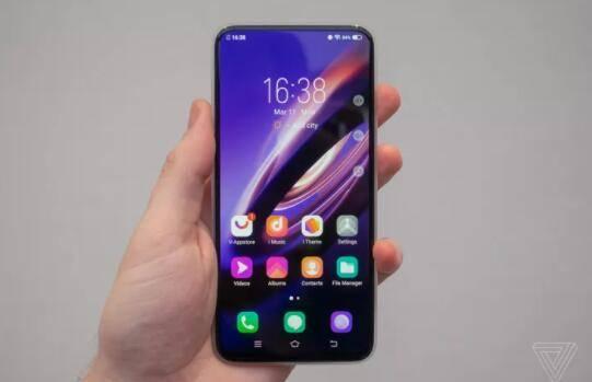 Vivo的无端口Apex 2019概念手机