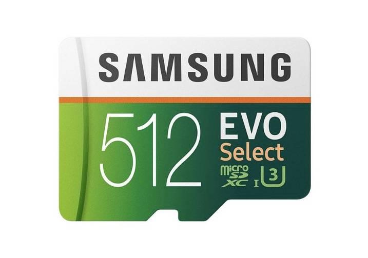 三星512GB的microSD是一个巨大的存储升级,比以往任何时候都便宜