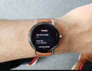 谷歌Wear OS智能手表