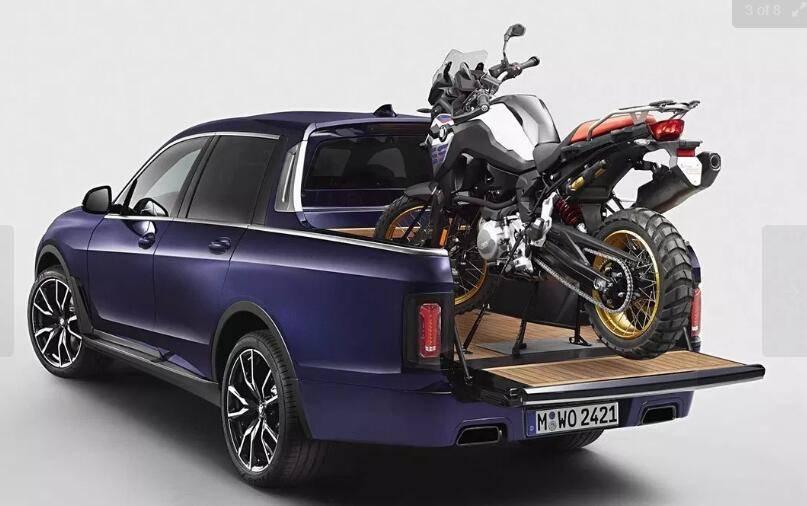 BMW打造全新 X7 车型 Pickup 货卡车版本