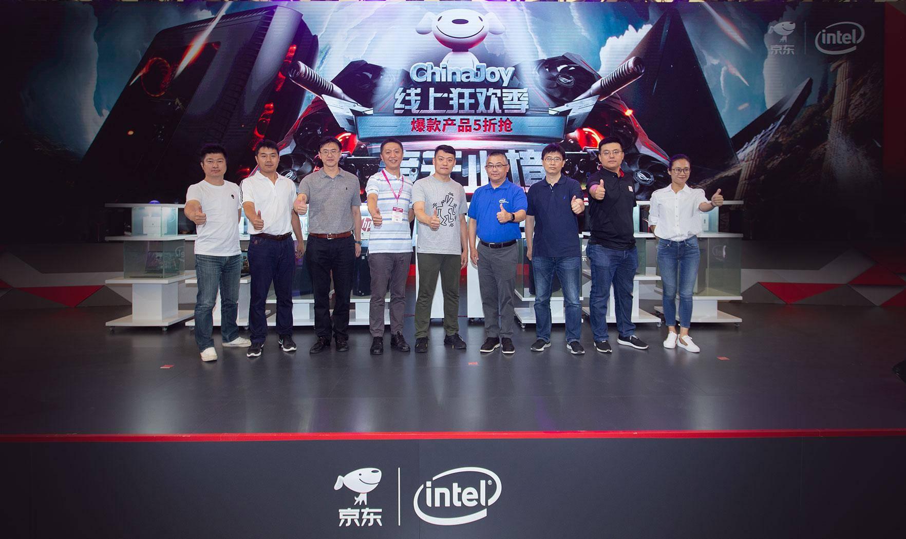 ChinaJoy现场京东携英特尔、联想、惠普、戴尔等品牌掀起电竞新品风潮