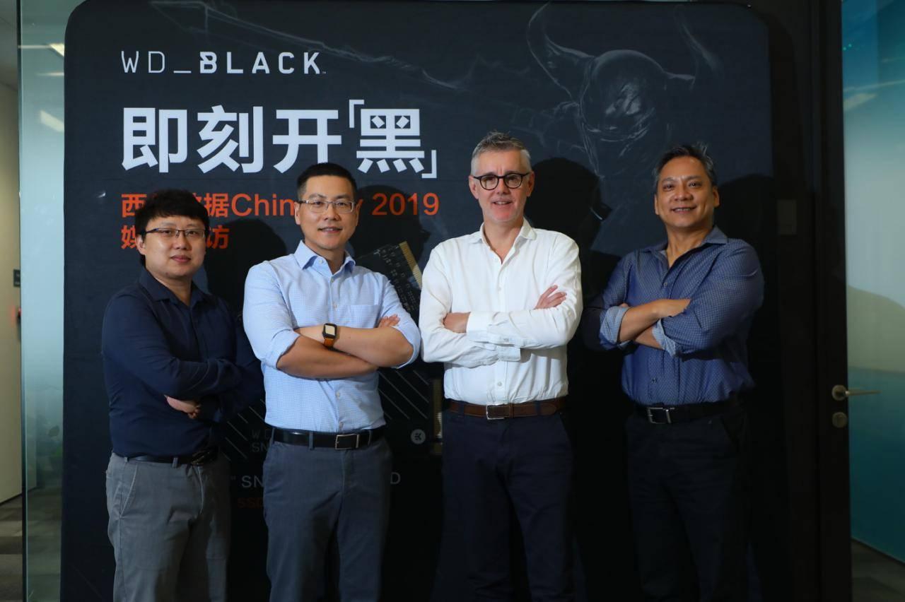 西部数据旗下游戏专属品牌WD_BLACK现身CHINAJOY