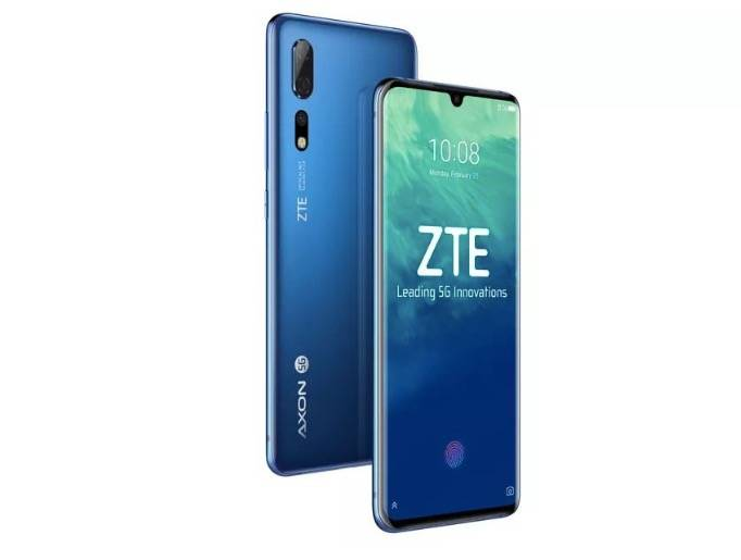 中兴在中国发布首款5G手机