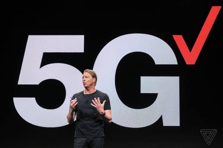 Verizon的首席执行官认为,明年将有一半美国人可以使用5G