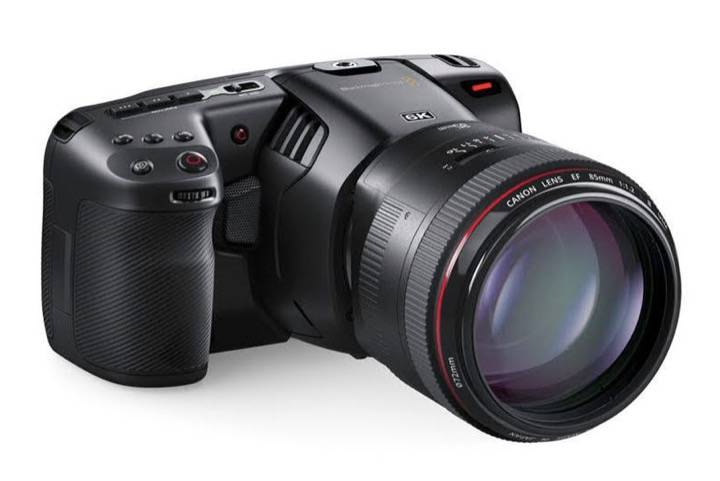 Blackmagic发布口袋电影相机6K