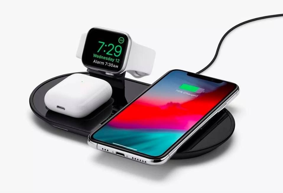 苹果上架 Mophie 3 合 1 无线充电装置