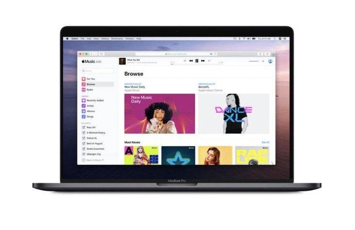 苹果音乐在网上发布