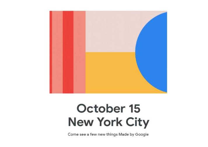 谷歌宣布10月15日Pixel 4硬件发布会