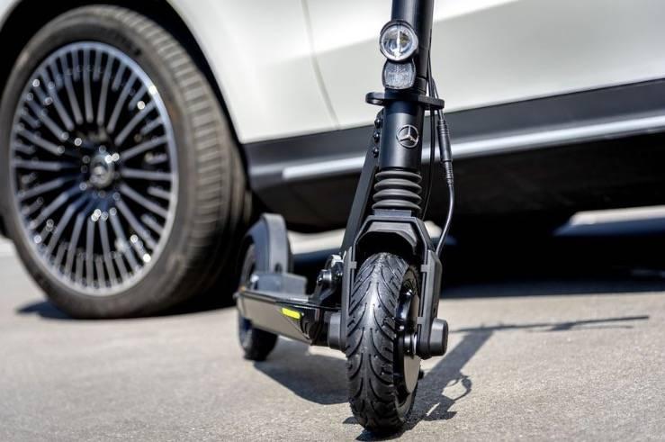 梅赛德斯-奔驰悄然进入电动摩托车市场