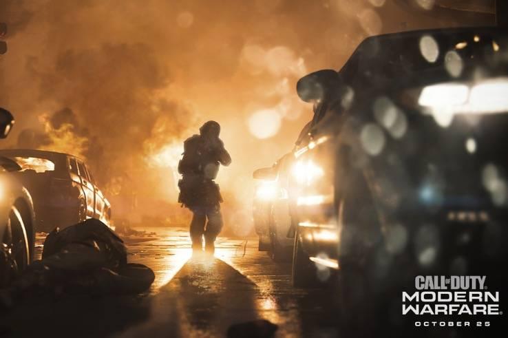 《使命召唤:现代战争》中交叉扮演的角色
