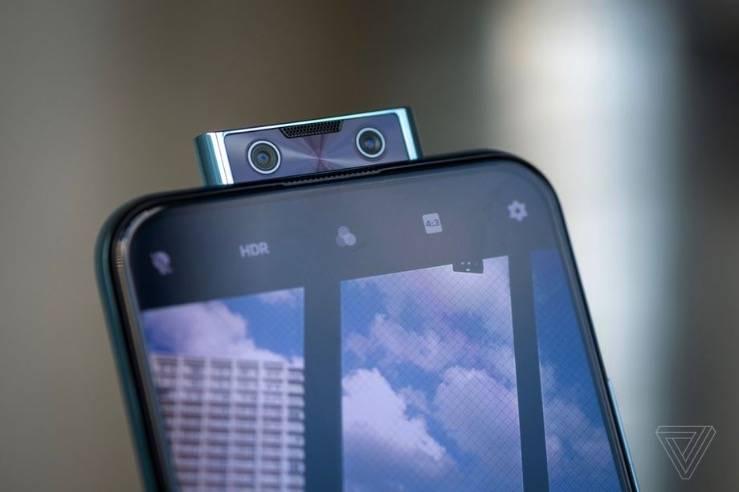 Vivo的V17 Pro有两个弹出式自拍相机