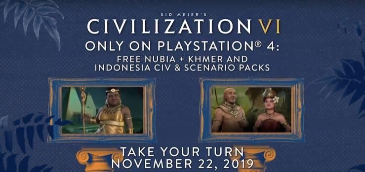 《文明6》即将登陆PS4和Xbox