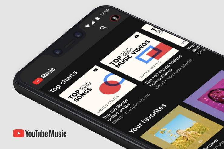 YouTube音乐现在将预装在Android设备上