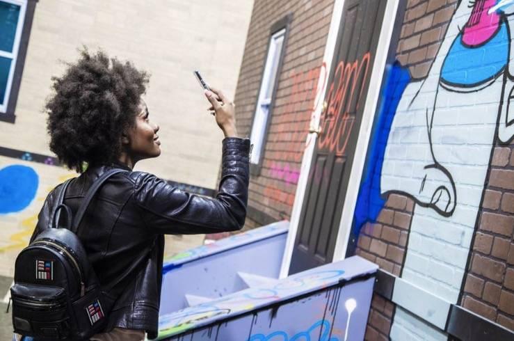 虚拟涂鸦的世界准备好了吗?