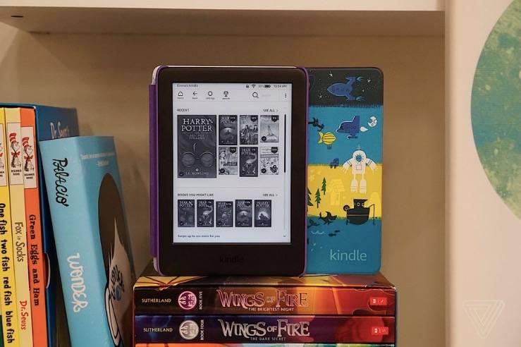 Kindle为年轻读者提供了一套儿童版服务