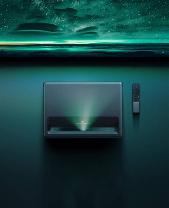 米家激光投影电视4K版十一特惠 直降4000元!