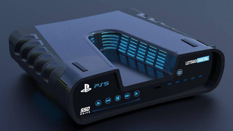索尼PS5概念设计图曝光,被称为最简单的编程平台