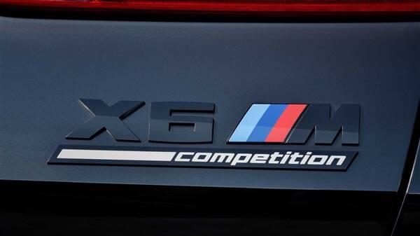 全新宝马X6 M雷霆版亮相洛杉矶车展,3.7秒实现百公里加速