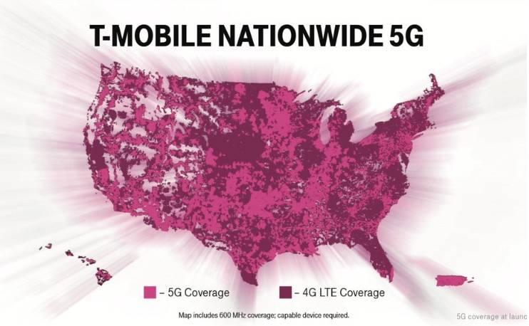 T-Mobile在美国全境发布600MHz的5G,但直到12月6日之前没有人可以使用它