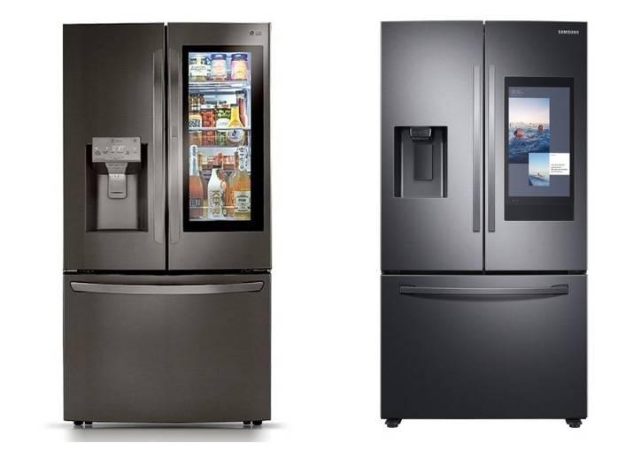 Samsung和LG与能识别食物的人工智能冰箱正面交锋