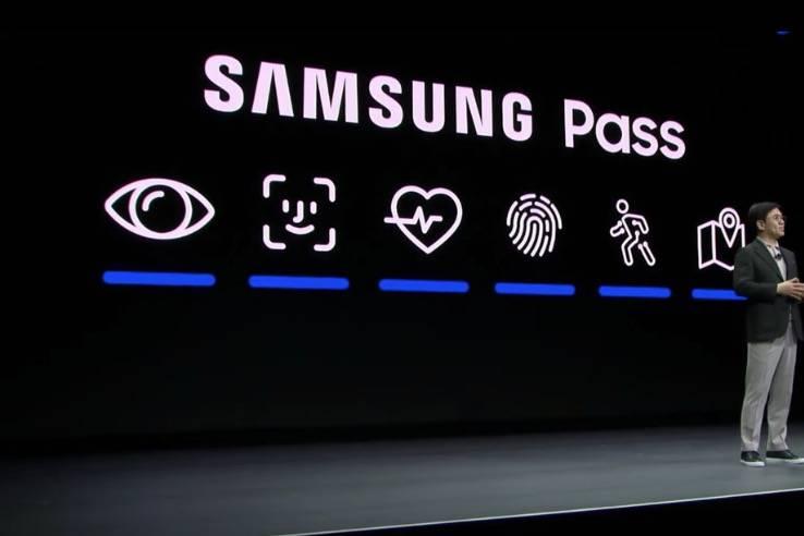 三星在CES的主题演讲中抄袭了苹果的Face ID标识