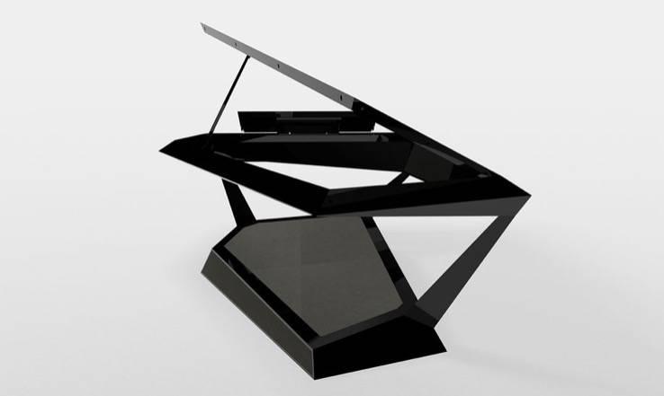 罗兰制造了大钢琴的赛博卡车