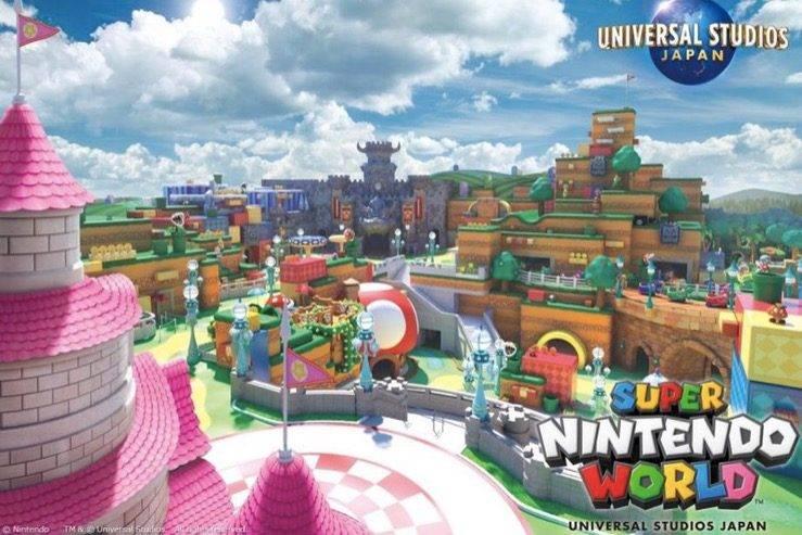 日本的超级任天堂世界主题公园将推出以马里奥为主题的智能手环