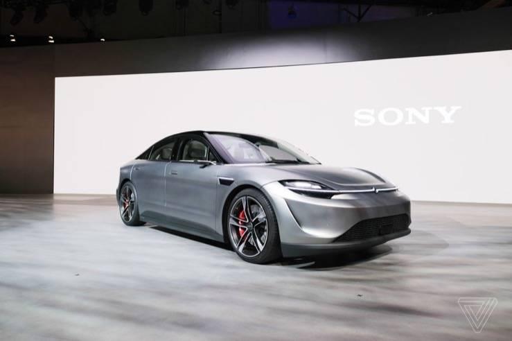 索尼推出了一款名为Vision-S的电动概念车