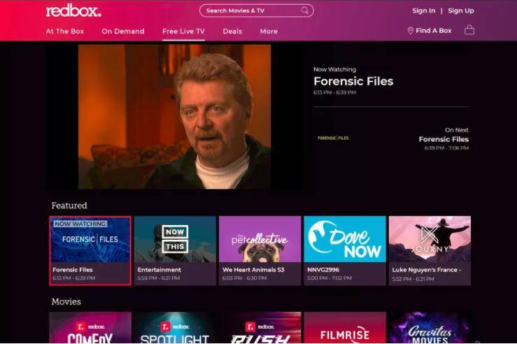 Redbox推出了广告支持的流媒体电视服务