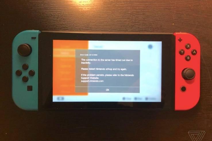 任天堂的Switch在线服务中断了近9个小时