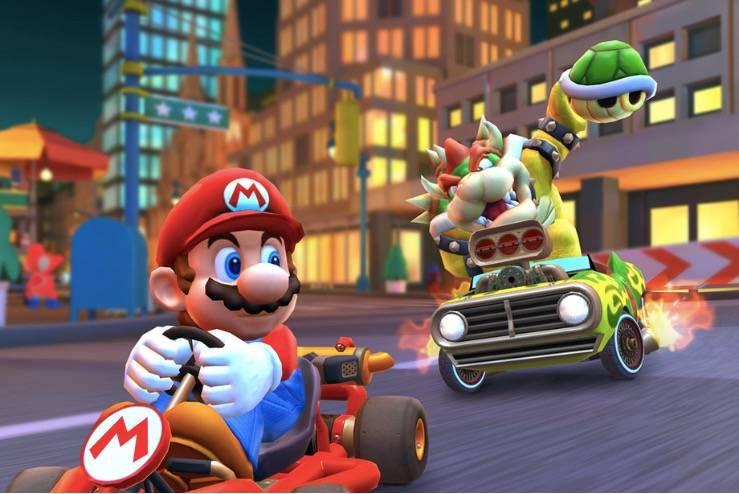 《马里奥赛车之旅》将于3月8日开始多人游戏