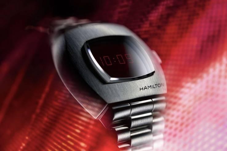 汉密尔顿将带着原始的数字手表和OLED转盘回来