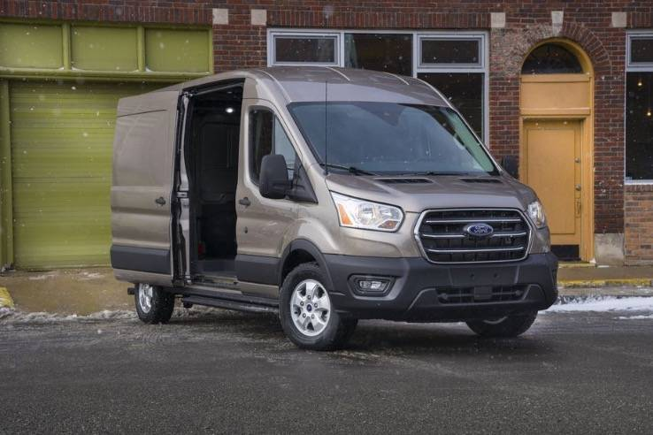 福特宣布推出全电动运输货车