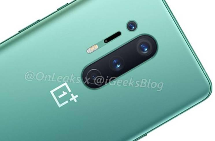 OnePlus 8 Pro可能会采用光滑的绿色海洋,最终实现无线充电