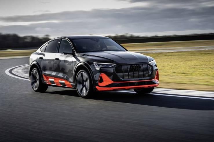 奥迪宣布了E-Tron的三电机性能版本