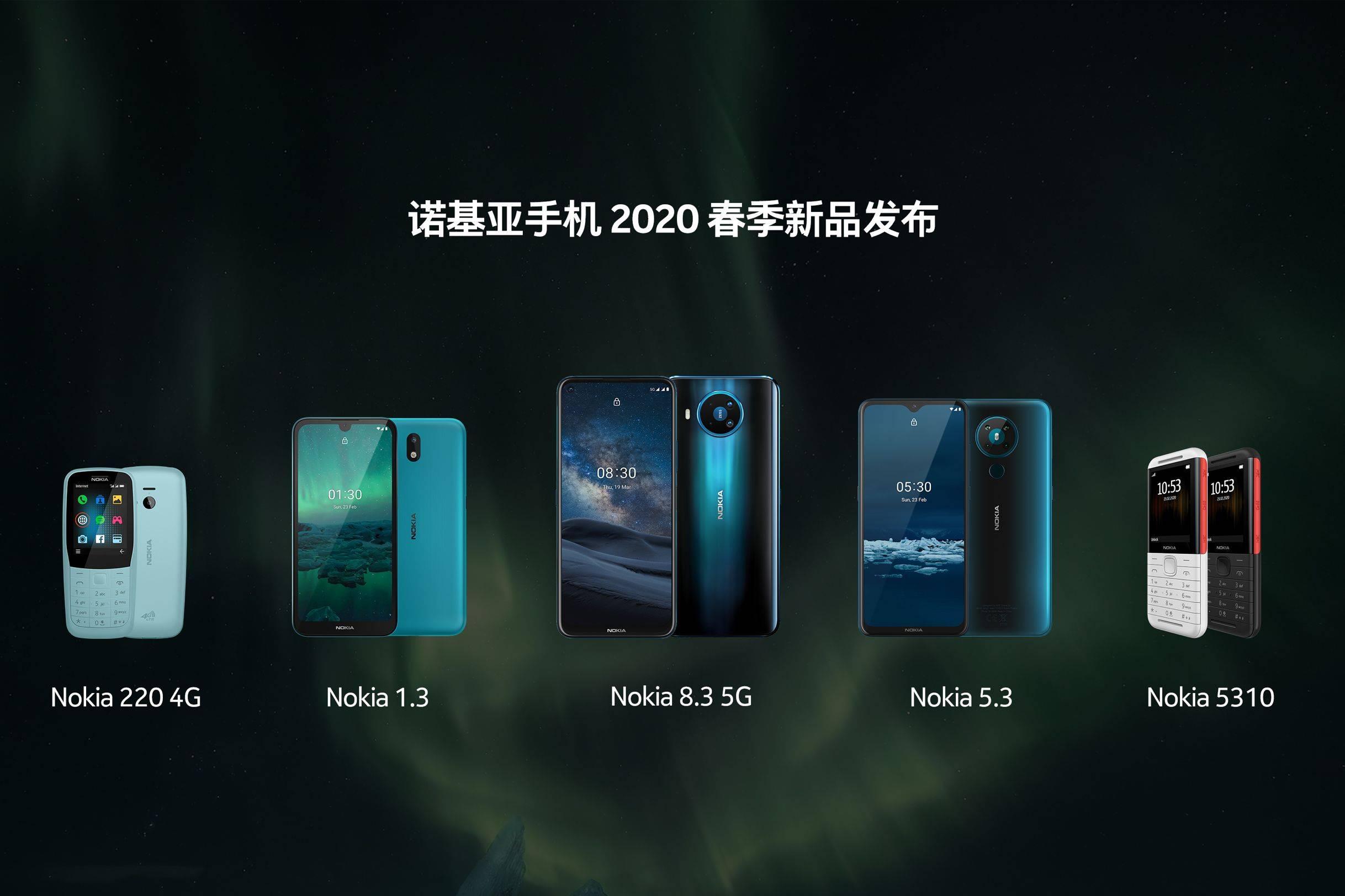 诺基亚首款 5G手机 Nokia8.3 5G正式发布,与电影《007:无暇赴死》达成合作