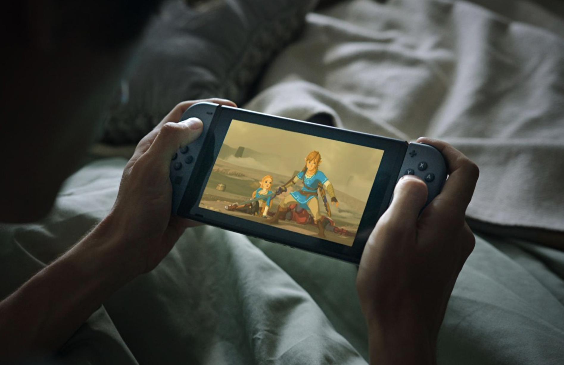 传Switch 全新机型或将搭载「双屏幕」