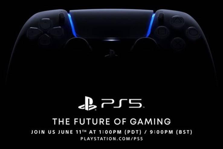 索尼PS5的发布会推迟到了6月11日