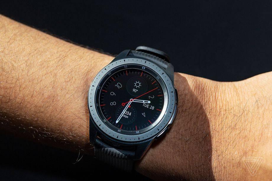三星Galaxy Watch 3的图片泄露