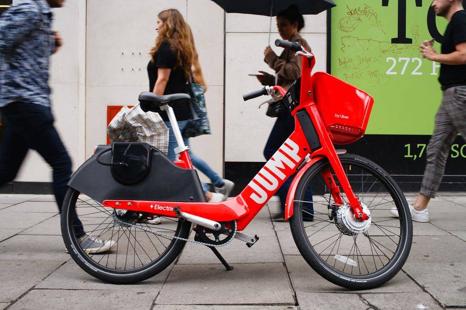 Lime将在伦敦重新推出Jump的电动自行车