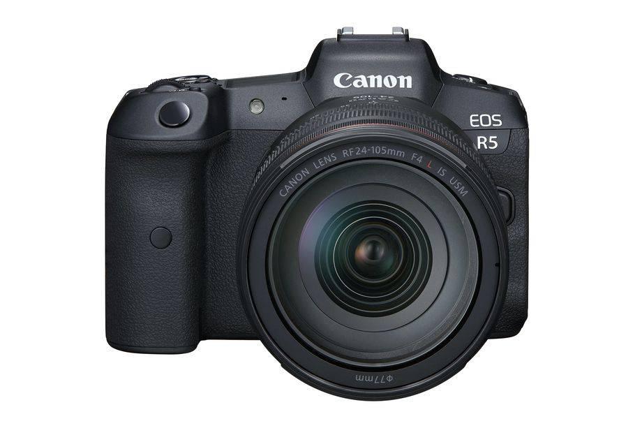 佳能发布EOS R5,一款8k拍摄的pro无反光镜相机