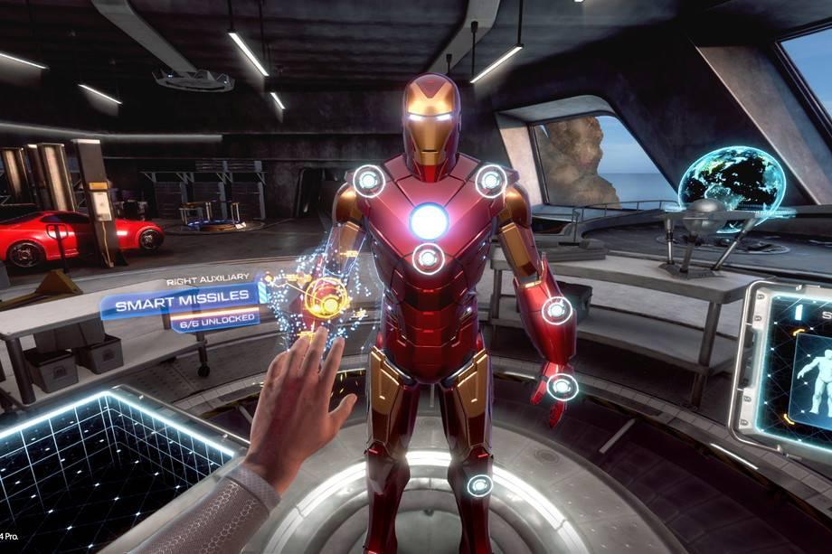 钢铁侠VR在加载时间里感觉自己像个超级英雄