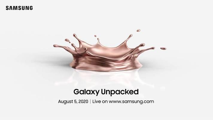 三星Galaxy Note 20发布会已确认将于8月5日举行